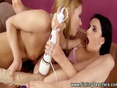 lesbian-babe-loaded-gets-with-a-fist