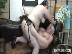 lesbo-scene-with-bbw-fucking-strap-on