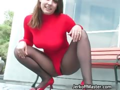 sexy-brunette-hoe-is-stripping-part2