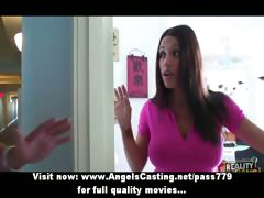 hot-bored-brunette-does-blowjob-for-pizza-guy-with-pizza-on