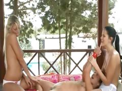 three-babysitters-enjoy-pussy-massage