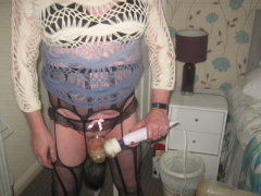 chastity cage fox tail but plug sex toy