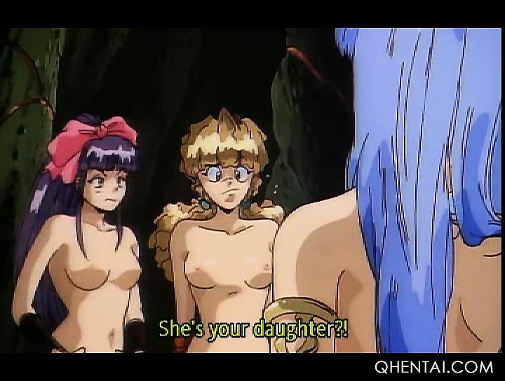 Hentai girl cums hard