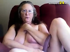 grandma-found-my-pink-dildo-tryout