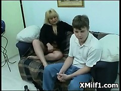 Extreme Pegging In Tempting Milf Muff