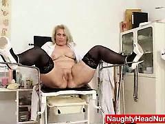 blonde-curvicious-mature-nurse