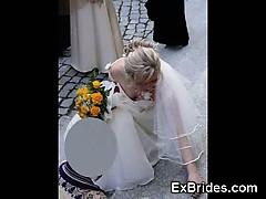 Real Hot Brides Upskirts!