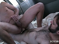Teen Gay Gets Fuck Hole Smashed By Straight Guy In The Bus
