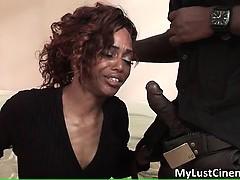 Horny Ghetto Slut Sucks Big Black Cock Part5