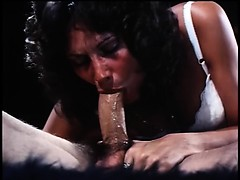 Amazing Linda Deepthroats Hard And Has An Orgasm