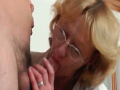 Nasty Mature Slut Is On Her Knees Part4