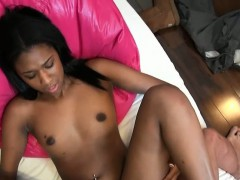 Tutor cums on students tits