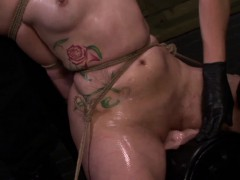 Fetishnetwork Mena Li Sybian Punishment