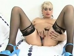 Mature Woman In Lingerie