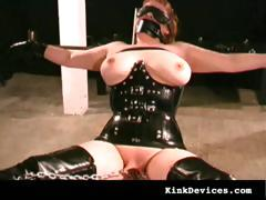 milf-slave-in-sexy-rubber-latex-suit
