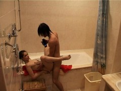 Wet And Lusty Bath Sex