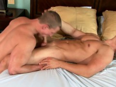 Beefy Straight Guy Being Cock Sucked