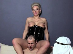 Mistress Alyson Shows Her 2 Arab Slaves The Real Arab Heaven
