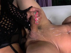 Tgirl Rimmed And Fucked