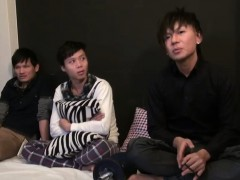 Japanese Twink Fuck Trio