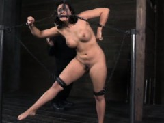 Bdsm Sub Chained Up And Punished Severly