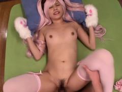 Asian Teen Cosplay Babe Fucked Pov Style