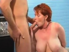 Mature Redhead With Saggy Boobs Wants Dick
