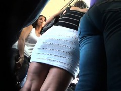 Getting An Upskirt With A New Camera