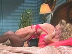 Busty Blonde Classic Pornstars In Lesbian Sex