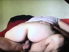 Chubby Amateur Babe Having Sex With Her Lover