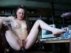 French Teen Gets Her Fucked By 2 Bbcs