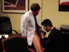 Hunky Assistant Muscled Ass Banged Hard