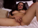Sophia Delane Plays With a Vibrator While Wearing Lingerie