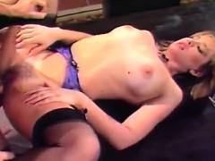 Taija Rae, John Leslie in classic 80's porn video with John