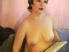 Mature Slut Shows Off Her Tits