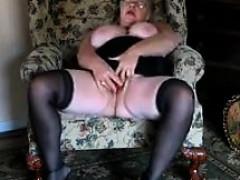 Large Grandma Orgasms