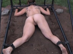 bounded-sub-humiliated-outdoors-by-maledom
