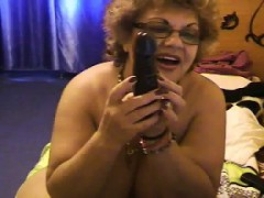large-granny-being-a-tease