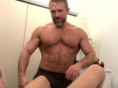 Buff Daddy Spanking Young Ass