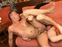 Zealous Blowjob Anal Drilling With Hawt Homosexuals