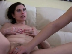 Woman And A Girl Fuck One Another
