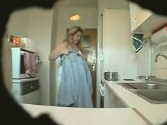 Spy Footage Mature Erika In The Kitchen