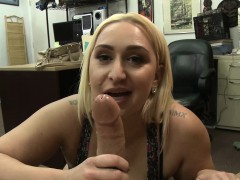 Giant Butt Amateur Blows Cock In Pov