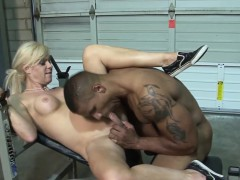Tgirl Gets Anal Creampie