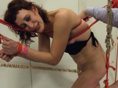 To Much Of Rope And Elegant Bdsm Submissive Sex