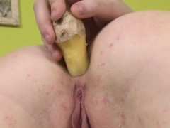 Lovable Cutie Is Gaping Wet Vagina In Close Range And Coming