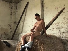 Big Dick Gypsy Rado Beats His Meat