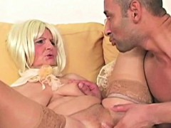 Grandma Vagina Sexy Foreplay