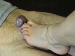 wife-makes-her-husbands-fat-cock-cum-with-her-foot