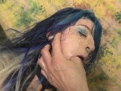 blue-haired-emo-slut-orion-star-getting-her-face-smashed